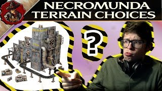 Necromunda Scenery Choices - What could you buy?