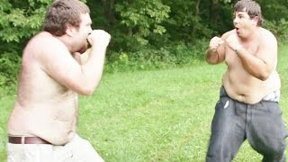 Bare Knuckle Street Fight Between Two Juggalos