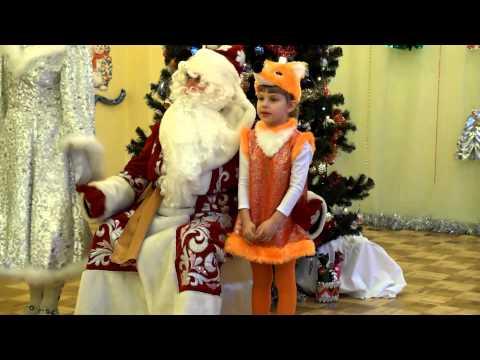 Новогодний праздник в детском саду 2 Золотой ключик Климовск видео съёмка праздника