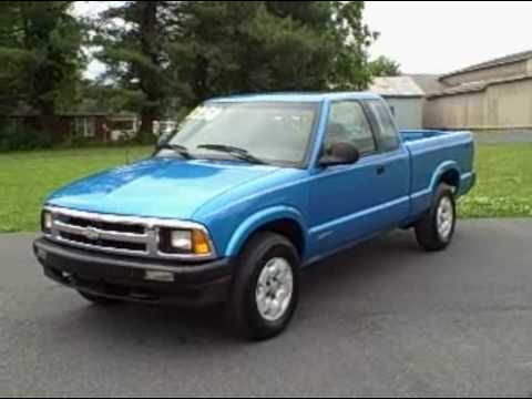 Chevy S10 ls Ext Cab 4x4