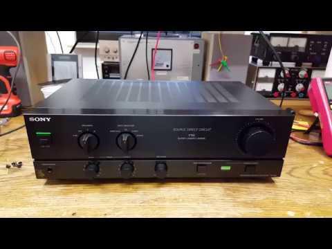 Sony TA-F110 Amplifier [2/2] - Repairs thumbnail