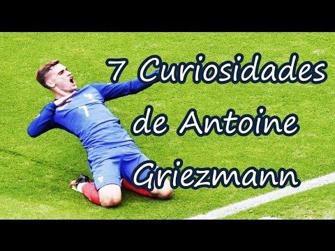 7 Curiosidades de Antoine Griezmann | Fútbol Social
