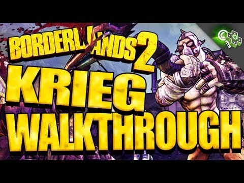 KRIEG THE PSYCHO Gameplay Walkthrough! SKILL TREES w/Creative Director Paul Hellquist