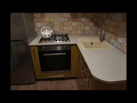 Ремонт кухни в хрущевке варианты своими руками 52