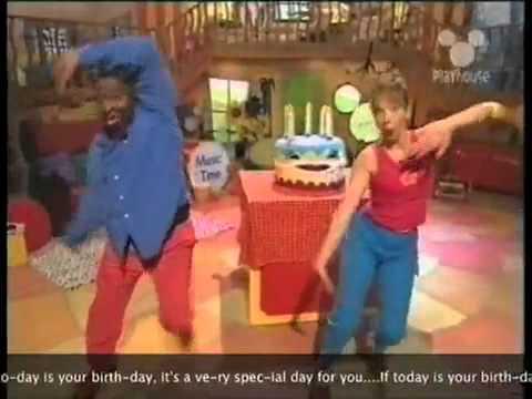 Playhouse Disney UK- Happy Birthday Song!