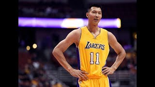 Yi Jianlian Highlights 2016-10-11 Preseason Blazers VS Lakers