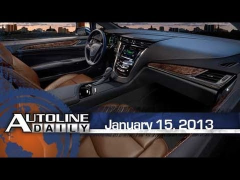 2014 Cadillac ELR Revealed - Autoline Daily 1049
