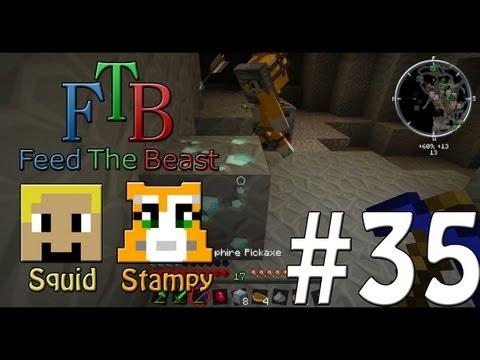 Feed The Beast #35 - DIAMONDSS!! - W/Stampylongnose