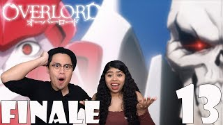 Overlord Season 1 Episode 13 Reaction and Review! AINZ OOAL GOWN VS SHALLTEAR BLOODFALLEN FINALE!