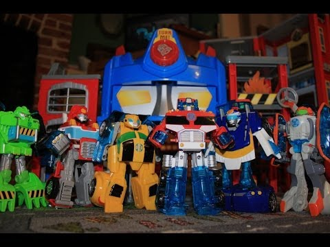 Transformers Rescue Bots Toys Full Collection - Toddler Review