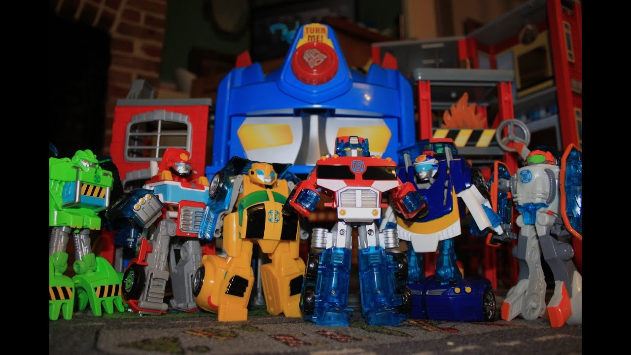Rescue Bots Toy Set Transformers Rescue Bots Toys