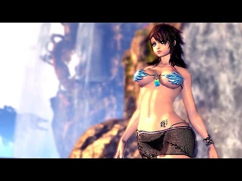Blade And Soul - Sexy Dobok Compilation (uncensored) - Gon Female - Open Beta - China video