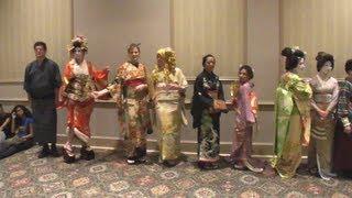 Anime North 2013 - Kimono Fashion Show (Post-Show Photo Shoot)