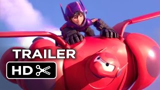 Big Hero 6 Official Trailer #2 (2014) - Disney Animation Movie HD