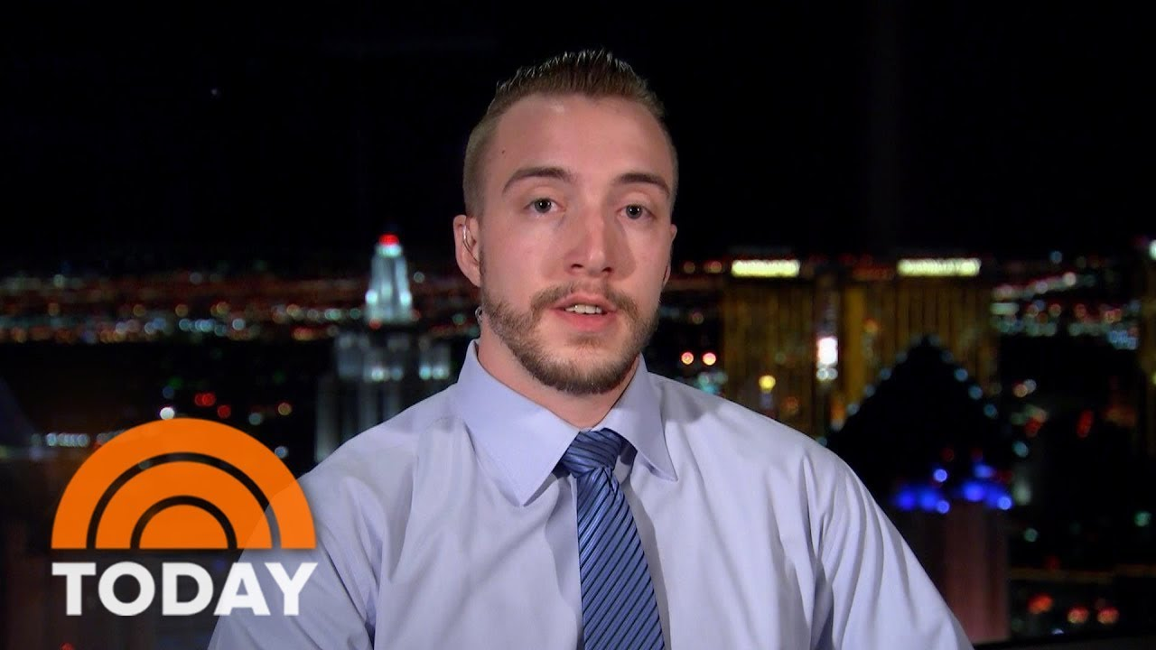 Las Vegas Shooter Stephen Paddock Warned Me 'To Take Cover': MGM Maintenance Man | TODAY