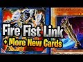 New Fire Fist Link , New Evil Hero + Predaplant + More Neo Yugioh Cards!