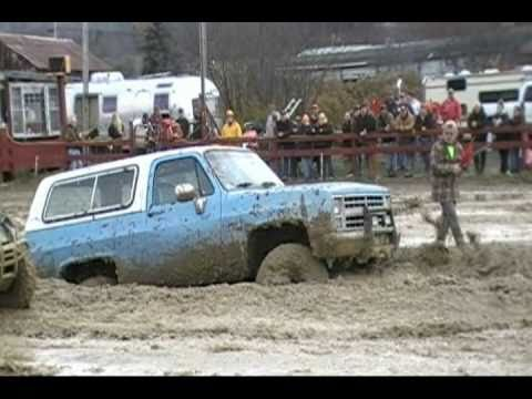 P~3 Mud Bogging in Belmont Ny 10~23~10 Stock 4x4 Trucks and More