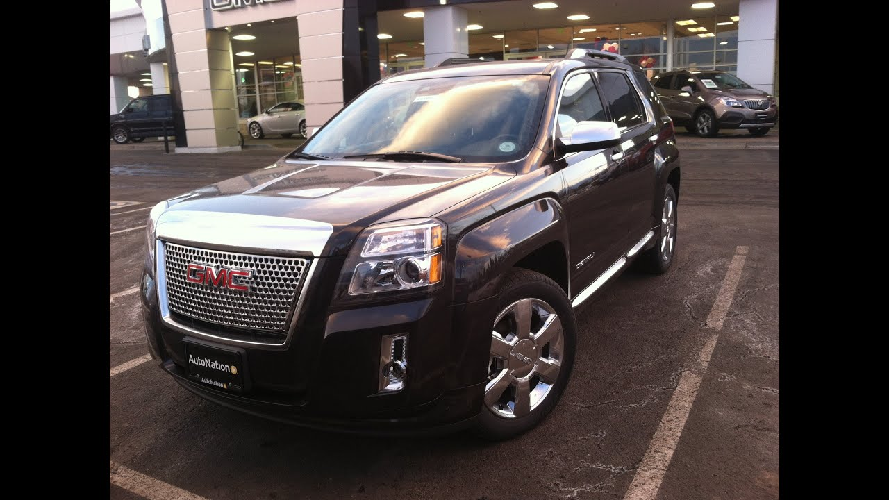 2014 gmc terrain denali awd start up in depth tour and review youtube. Black Bedroom Furniture Sets. Home Design Ideas