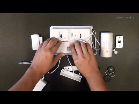 Chuango CG-G5 - Alarm bezprzewodowy GSM [prezentacja]