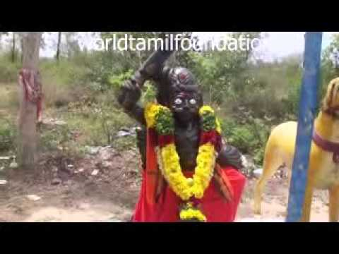 powerful Karuppasamy temple  - vannaretty.