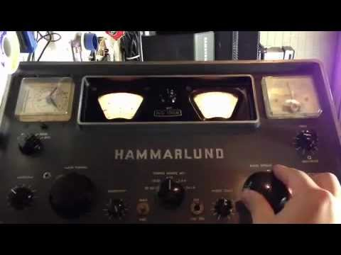 Hammarlund HQ-100A without mod