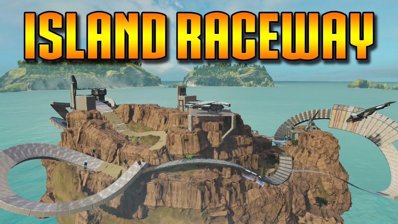 Halo: MCC Epic Maps #6 - Island Raceway (Halo 2 ...