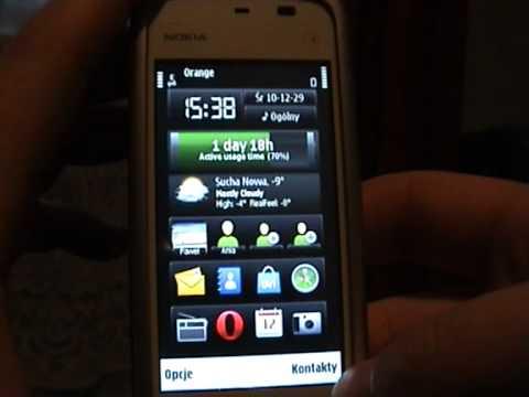 Nokia 5230 z softem od Nokia C6. czyli społeczność w natarciu.
