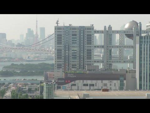 Tokyo City View from Telecom Center in Odaiba on July, 2014 (お台場テレコムセンターからの東京の眺め)