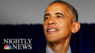 Celebrities Salute President Obama In Farewell Video | NBC Nightly News