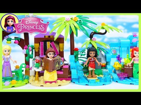 Moana's Tiny Diorama Custom Lego Disney Princess Build DIY Craft Display   Kids Toys
