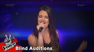 Christie Bell - Bad Girls | 7o Blind Audition | The Voice of Greece