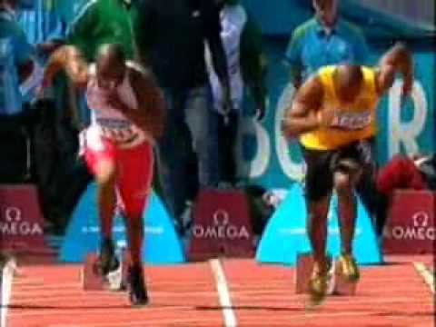 Asafa Powell 100m Quarter Final 2006 Commonwealth Games