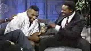 Muhammad Ali and Mike Tyson on same talk show - P1 (rare)