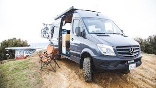 4x4 Mercedes Sprinter Van Tour - by Campovans
