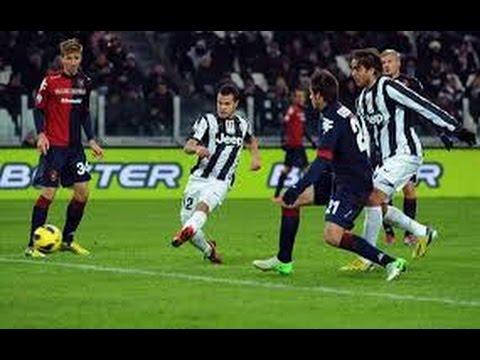 Carlos Tevez Goal~Juventus vs Cagliari 1-0||18.12.2014