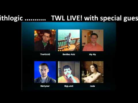 TWL LIVE! - Special guest Arab Atheist Broadcasting 15th July 2012