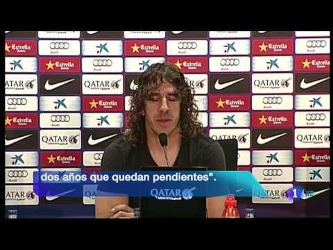 Carles PUYOL dejará el FC BARCELONA a final de temporada