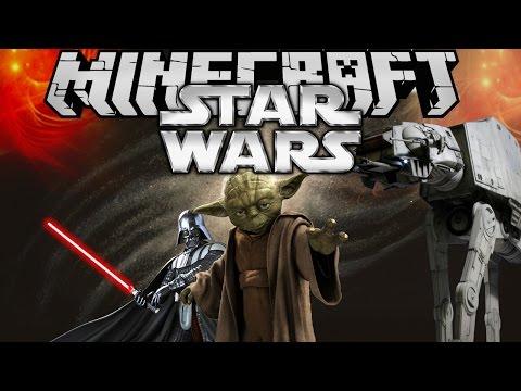 Minecraft mody STAR WARSY NOWE ŚWIATY STAR WARS MOD