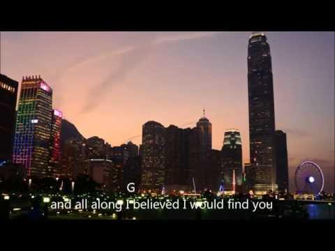 Chord Guitar & Lyrics   A Thousand Years   Christina Perri