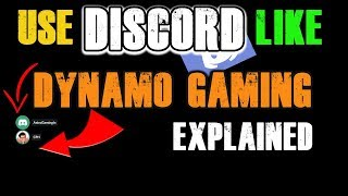 How to Use Discord Like Dynamo Gaming With Voice Overlay - Discord Part1