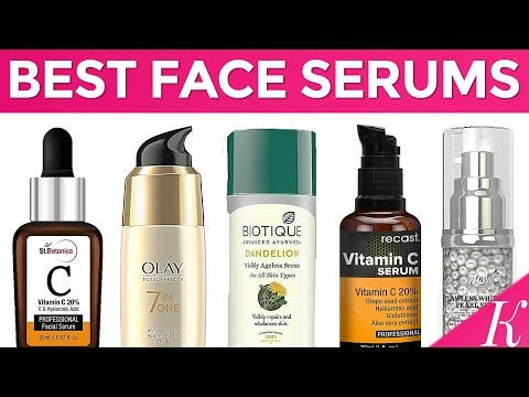 10 Best Face Serums for Glowing Skin in India with Price | For Oily, Dry & Sensitive Skin