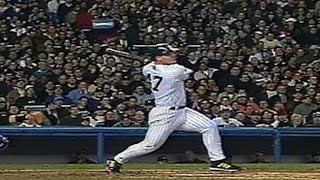 2001 WS Gm4: Spencer's solo homer gives Yanks lead