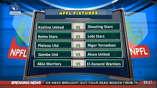 Sports This Morning: Updates From NPFL 17/02/17