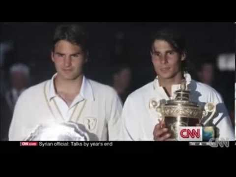 Roger Federer talks to CNN: Rafael Nadal and Wimbledon Finals