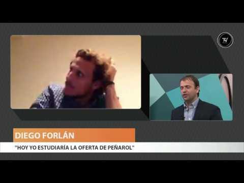 Diego Forlán en El Observador TV