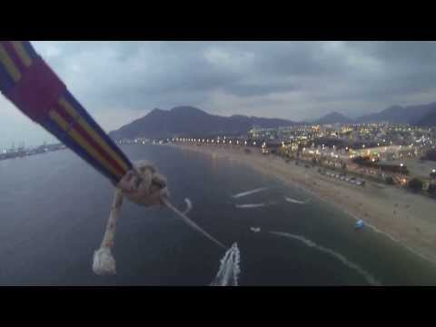 Paragliding at Khor Fakkan Beach - GoPro