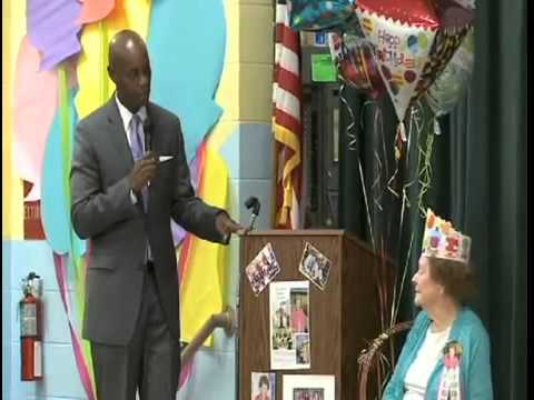 Shady Grove Elementary Honors Special Guest