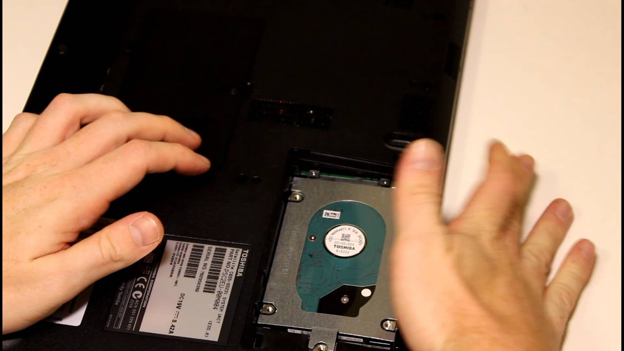 how to open hard drive on tv