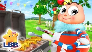 Barbecue Song +More | Little Baby Bum Junior | Cartoons and Kids Songs | LBB TV | Songs for Kids