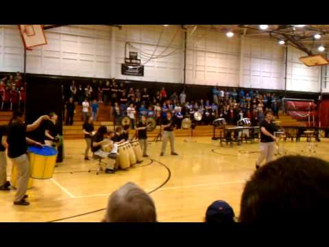 North Hagerstown High School 2012 Indoor Percussion